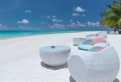 海滩酒吧 免版税库存图片