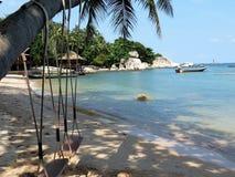海滩酸值陶 图库摄影