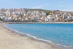 海滩锡蒂亚 免版税库存照片