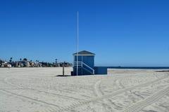 海滩长的加利福尼亚 库存图片
