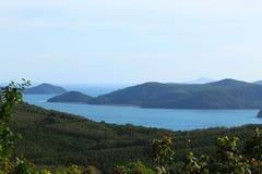 海洋顶视图 图库摄影
