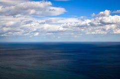 黑海-风平浪静 图库摄影
