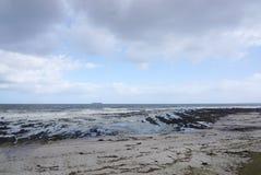 海滩风景在开普敦,南非 图库摄影