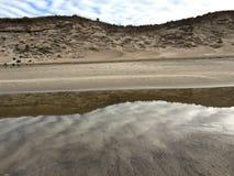 海滩风景照片 库存照片