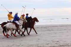 海滩马球罗德岛州 免版税库存图片
