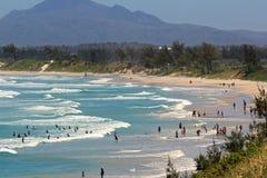 海滩马达加斯加,非洲 免版税库存图片