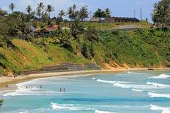 海滩马达加斯加,非洲 免版税图库摄影