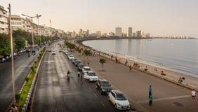 海洋驱动孟买 免版税库存照片