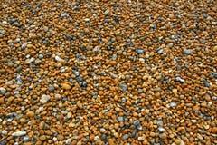 海滩高JPG小卵石解决方法 库存图片