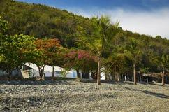 海滩高JPG小卵石解决方法 免版税图库摄影