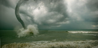 海洋龙卷风 库存图片
