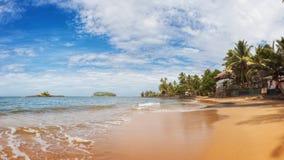 海滩,斯里兰卡 库存照片