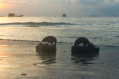 海滩,旅行,概念 库存图片