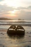 海滩,旅行,概念 免版税图库摄影