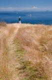 海滨,海湾岛群国家公园保留地 免版税图库摄影