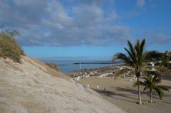 海滩,海滩前 免版税图库摄影