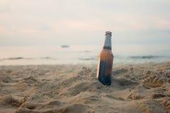 海滩,饮料,概念 免版税库存图片