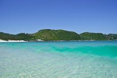 海滩, Buzios,巴西 库存照片