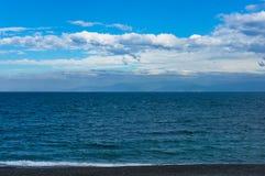 海滩, Shizouka,日本海岸线  库存照片