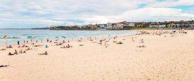 海滩bondi悉尼 免版税图库摄影