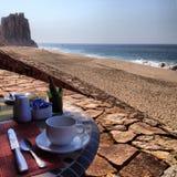 海滩Cabo圣卢卡斯 免版税库存图片