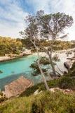海滩Cala Llombards 免版税库存图片