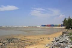 海滩dadeng海岛 免版税图库摄影
