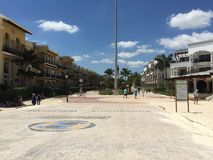 海滨del卡门墨西哥 免版税库存图片