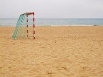 海滩Footy 免版税图库摄影