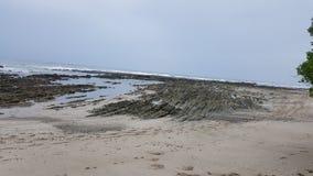海滩` Mal paÃs ` 免版税库存照片