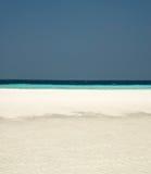 海滩maldivian 库存图片