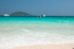 海滩Similan海岛 免版税库存图片