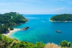 海lampromphep普吉岛泰国 免版税库存照片