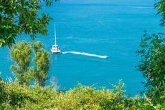 海lampromphep普吉岛泰国 库存照片