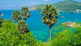 海lampromphep普吉岛泰国 图库摄影