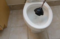 浸入洗手间 免版税图库摄影