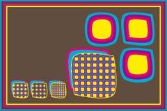 浸泡ro shapes squares 免版税库存照片
