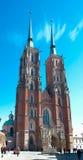 浸礼会大教堂约翰st雕象 免版税库存图片