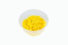 涂奶油的玉米好健康 库存照片