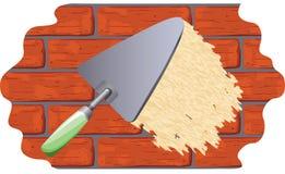 涂灰泥墙壁 免版税库存图片