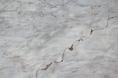 涂灰泥的墙壁白色 概略的参差不齐的纹理 免版税库存照片