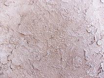 涂灰泥的混凝土墙背景纹理细节 库存照片
