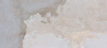 涂灰泥的水泥混凝土墙背景纹理 免版税库存照片