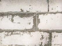 涂灰泥的水泥建筑墙壁 库存照片