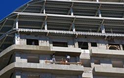 涂灰泥30个的楼层  免版税图库摄影