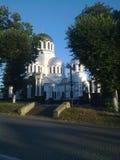 涅夫斯基大教堂Kamenets-Podolskiy,乌克兰 库存照片