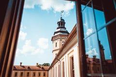 涅斯维日城堡,白俄罗斯 免版税库存照片