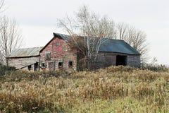 消失的农场 免版税库存图片