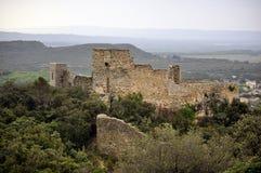 消失的城堡 库存图片