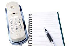 消息电话 免版税图库摄影
